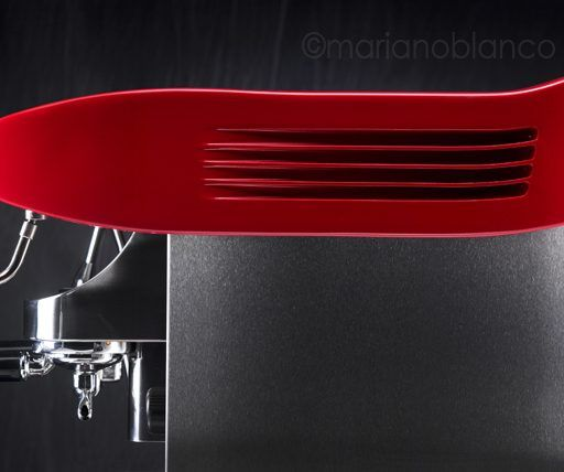 Cafetera roja