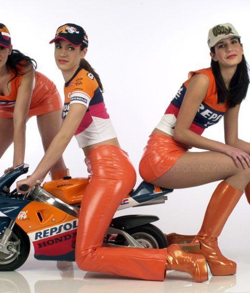 Chicas Repsol