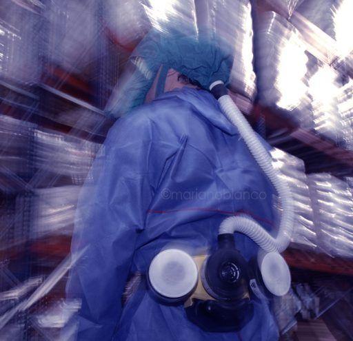 Operario en fábrica