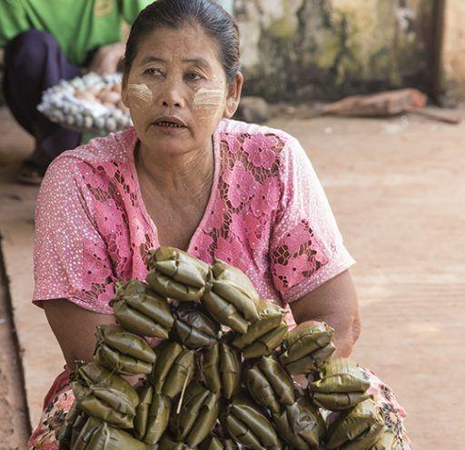 Fotografía Myanmar mujer