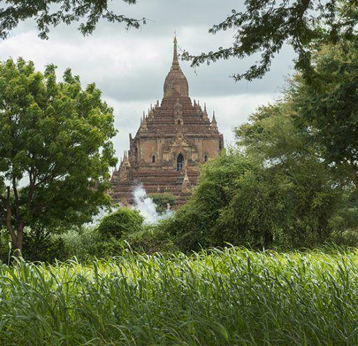 Fotografía Myanmar templo Budista Bagan