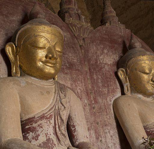 Fotografía Myanmar Budas gemelos